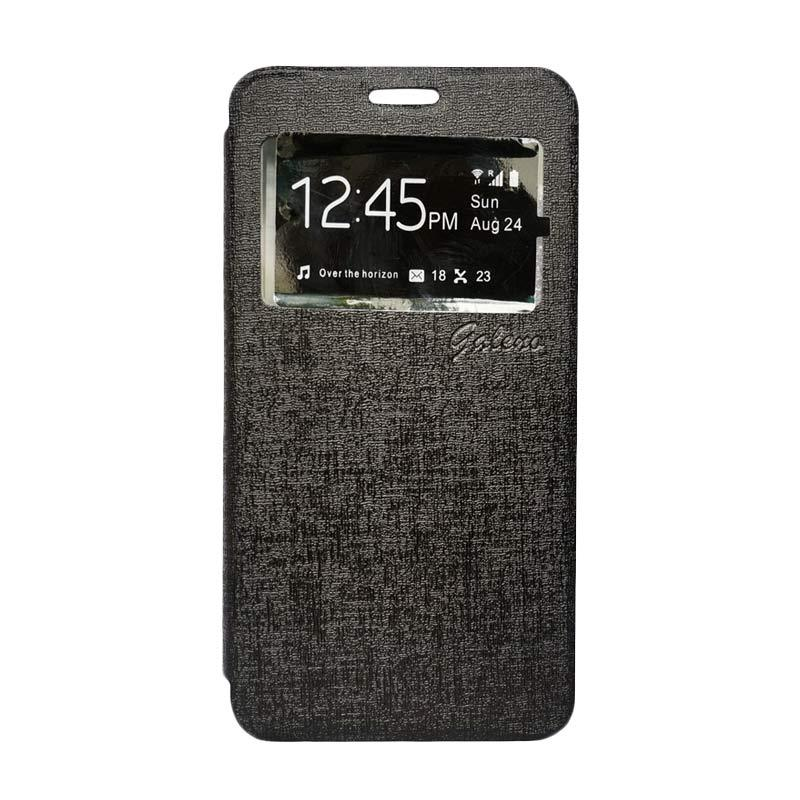 Galeno Flip Cover Casing for Huawei GR3 - Hitam