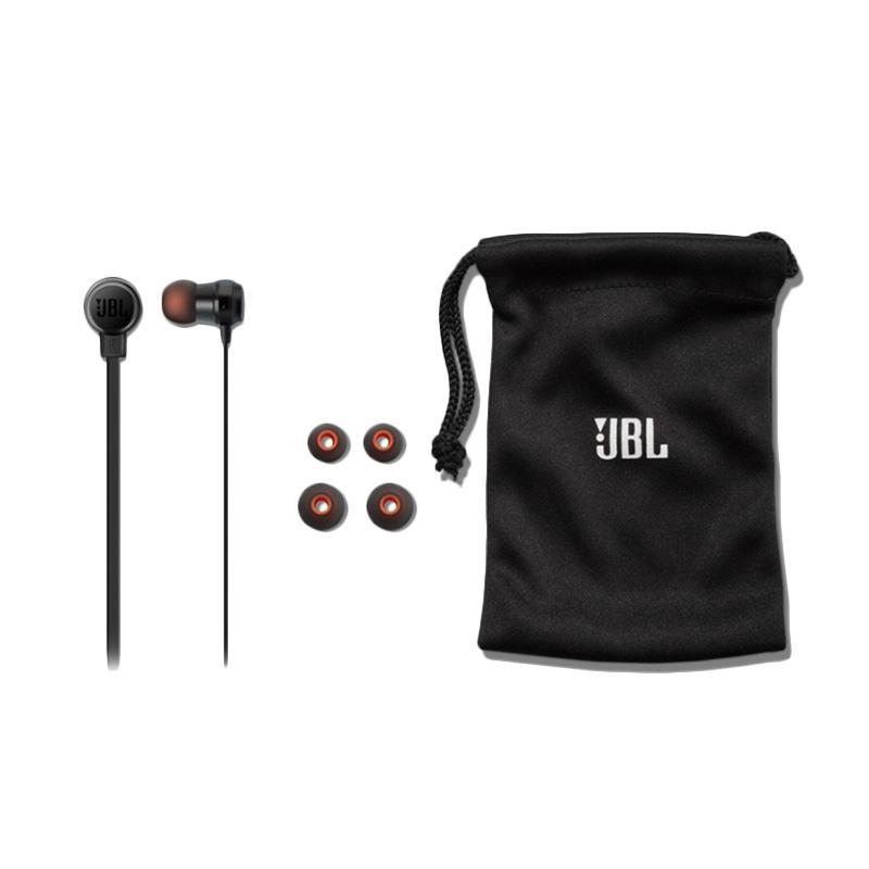 Jual JBL T280A+ Stereo In-Ear Headphone - Hitam Online - Harga & Kualitas Terjamin   Blibli.com