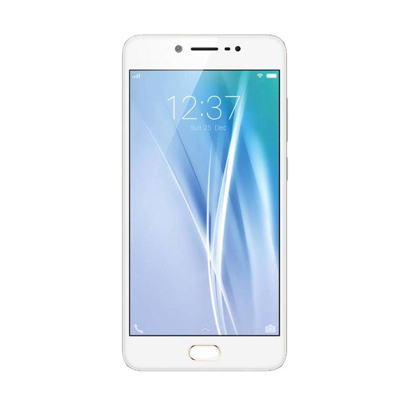 VIVO V5S Smartphone - Gold [64GB/ 4GB] Free Headphone