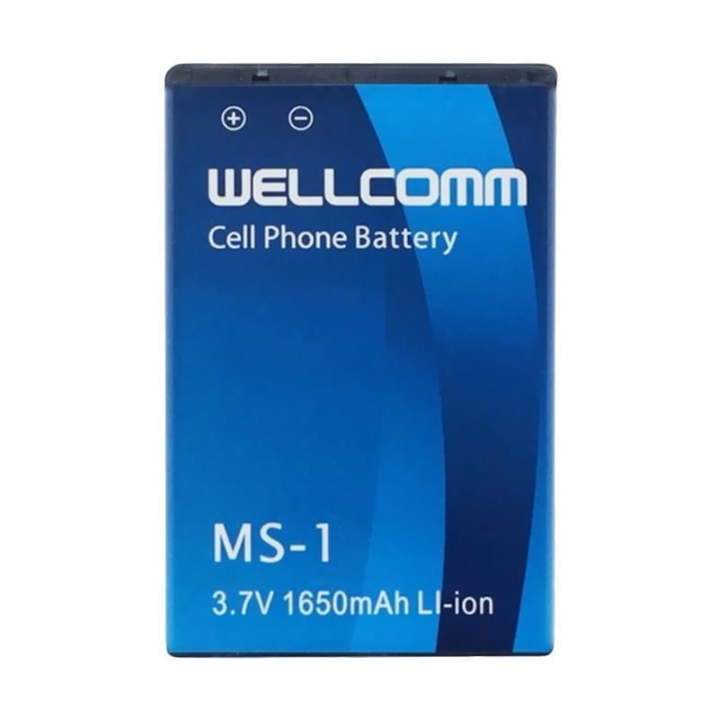 Welcomm Battery for Black Berry MS-1 - Biru