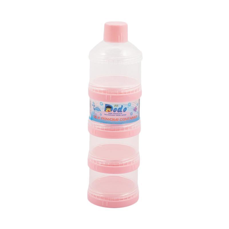 DODO Susun 4 Milk Container - Pink