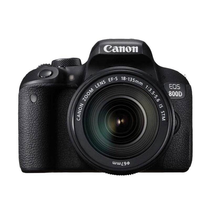 Canon EOS 800D Kit 18-135mm IS STM Kamera DSLR