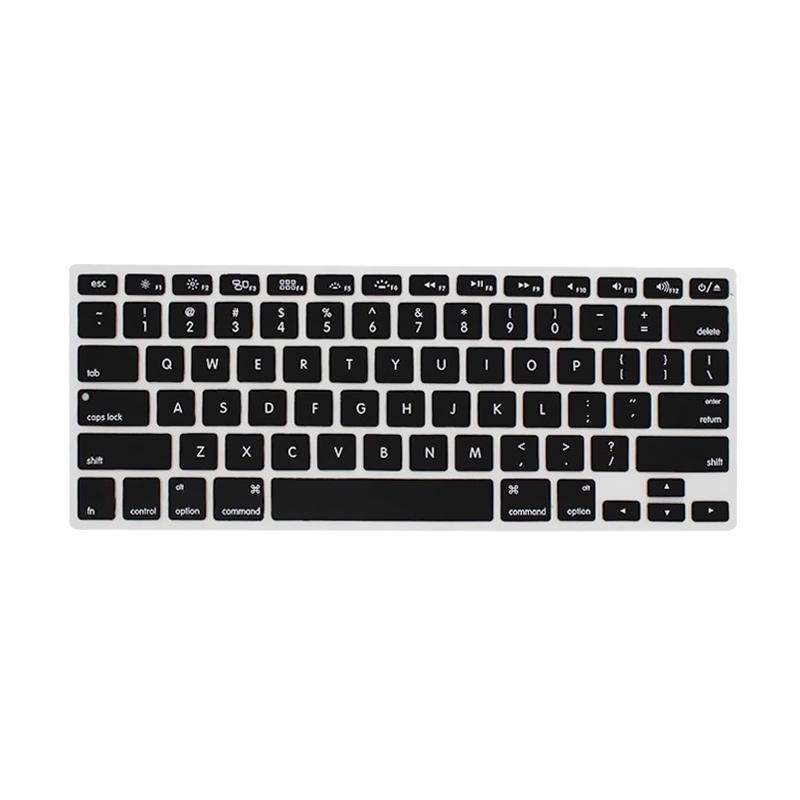 Crystal Guard Silicone Keyboard Skin Cover Protector for Macbook Air 11 Inch