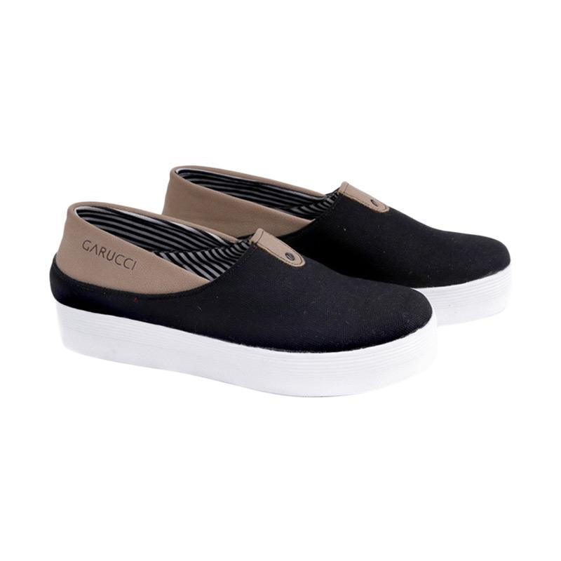 Garucci GUS 6149 Slip On Shoes Wanita - Black