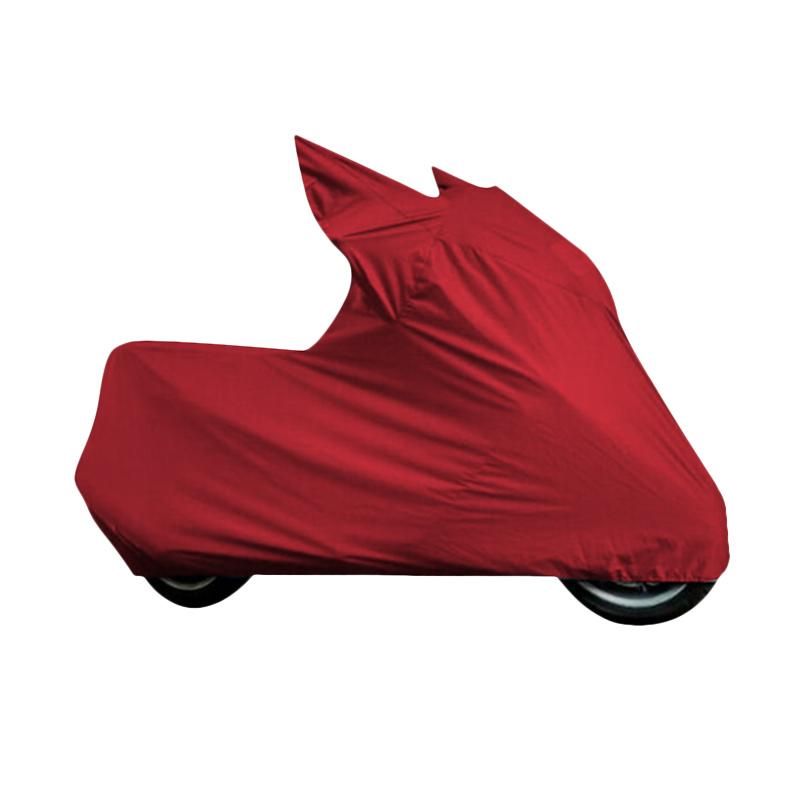 harga Mantroll Cover Motor Khusus for Yamaha New Vixion  - Red Blibli.com