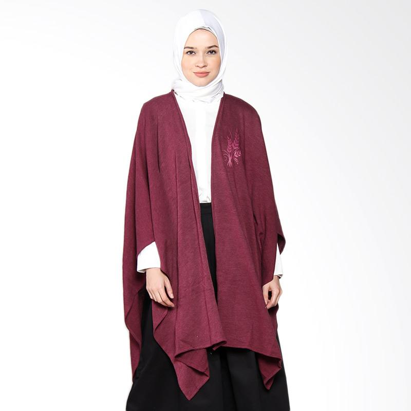 Artenesia Wendy FWOTR06 Kimono Cardigan Muslim - Maroon