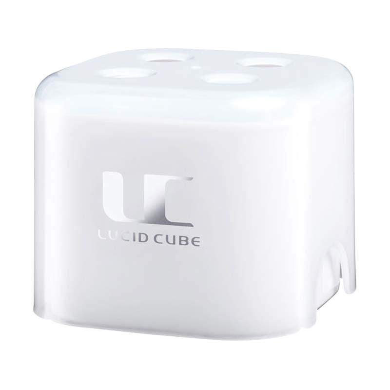 Carall Lucid Cube 1579 Car Air Freshener Parfum Mobil Gel - White Musk