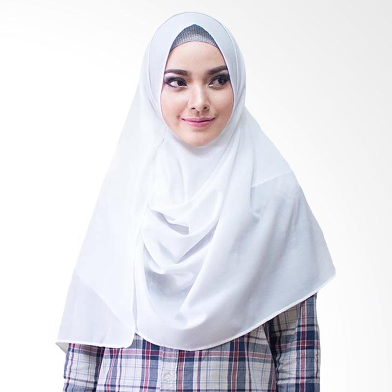Milyarda Hijab Paloma Diamond Hijab Instan - Putih