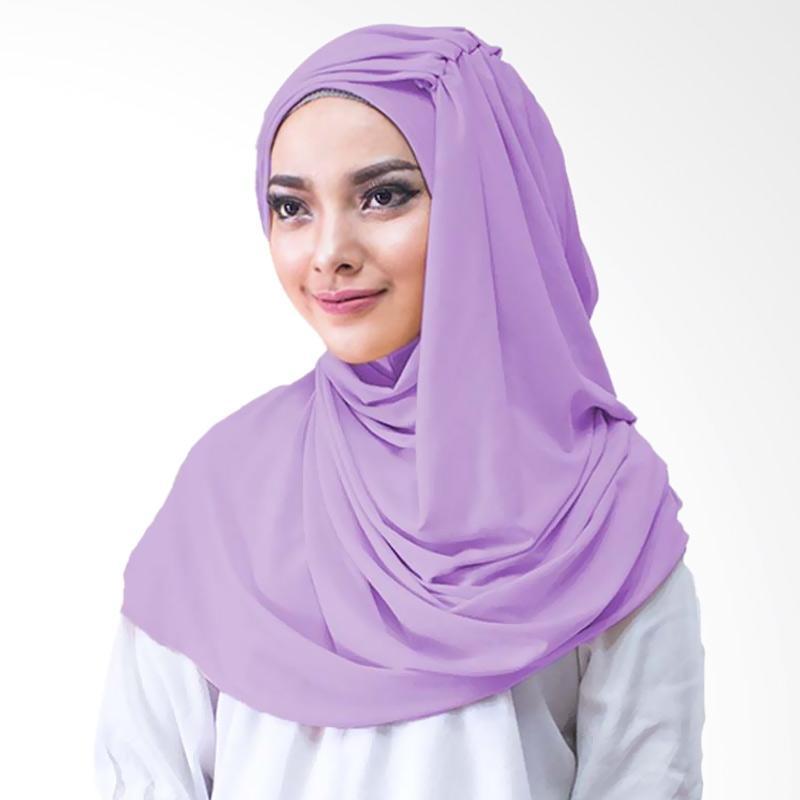 Milyarda Hijab Alesyana Jilbab Instan - Lavender
