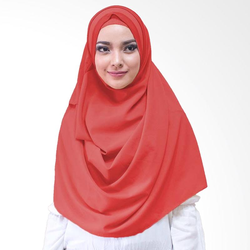 Milyarda Hijab Athaliali Hijab Instan - Merah