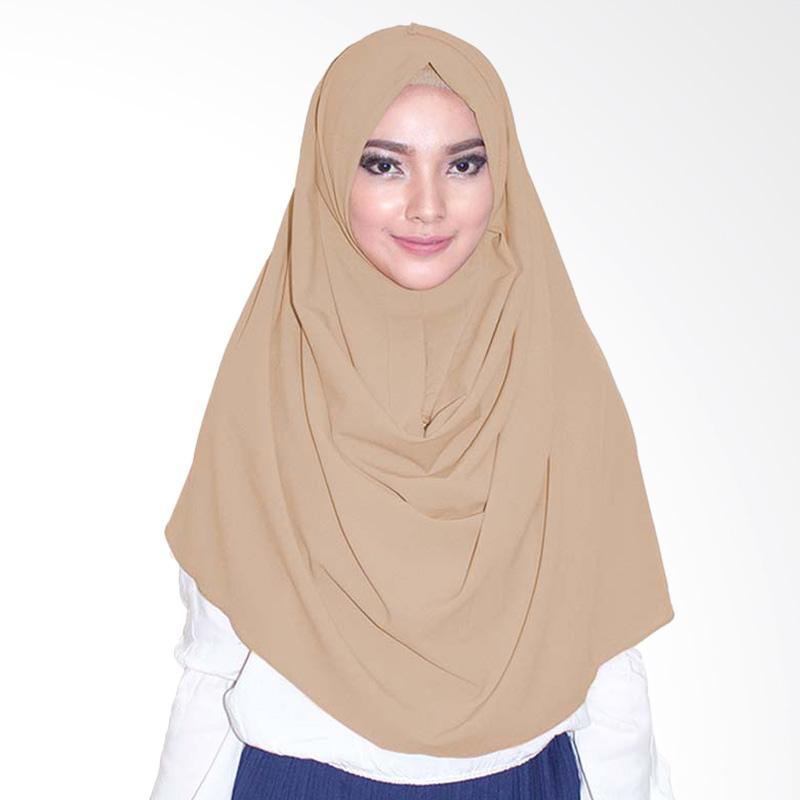 Milyarda Hijab Emily Hijab instan - Coklat Susu