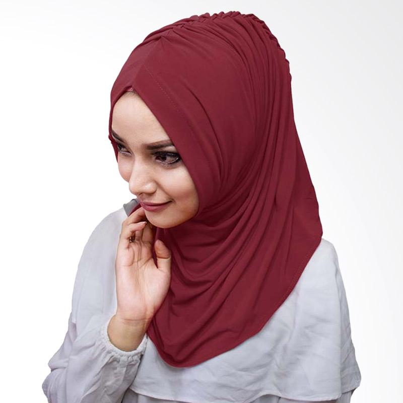 Milyarda Hijab Medirala Jilbab Instan - Maroon