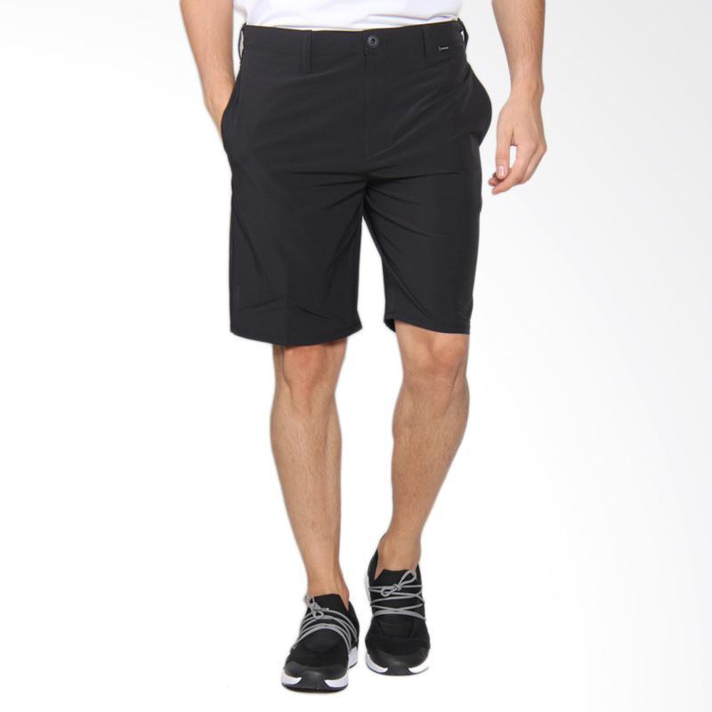 Hurley Phantom Flex Walk Short Celana Pendek Pria - Black MWS0005240 00A