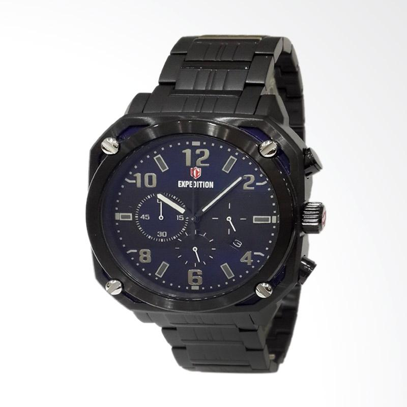 Expedition Jam Tangan Pria - Black 6738MCBIPBU