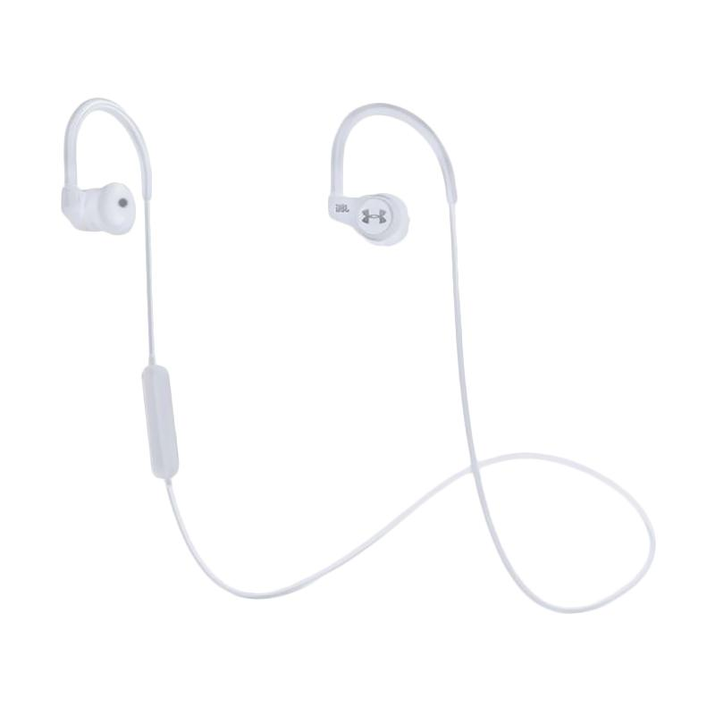 JBL Under Armour Sport Wireless Headset with Heart Rate - White