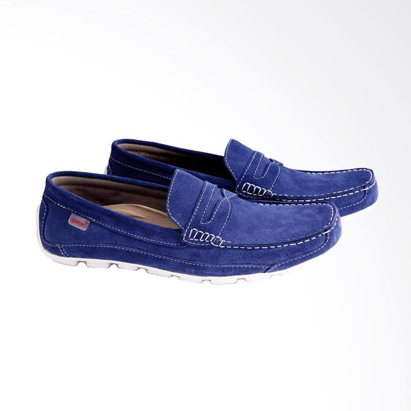 Garucci Slip On Shoes Pria - Blue GCN 1181