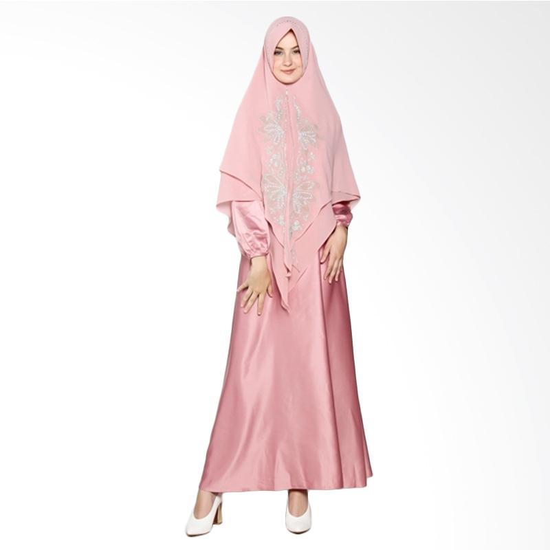 Yanna Azwar Jamilah Syar'i Set Gamis - Pink