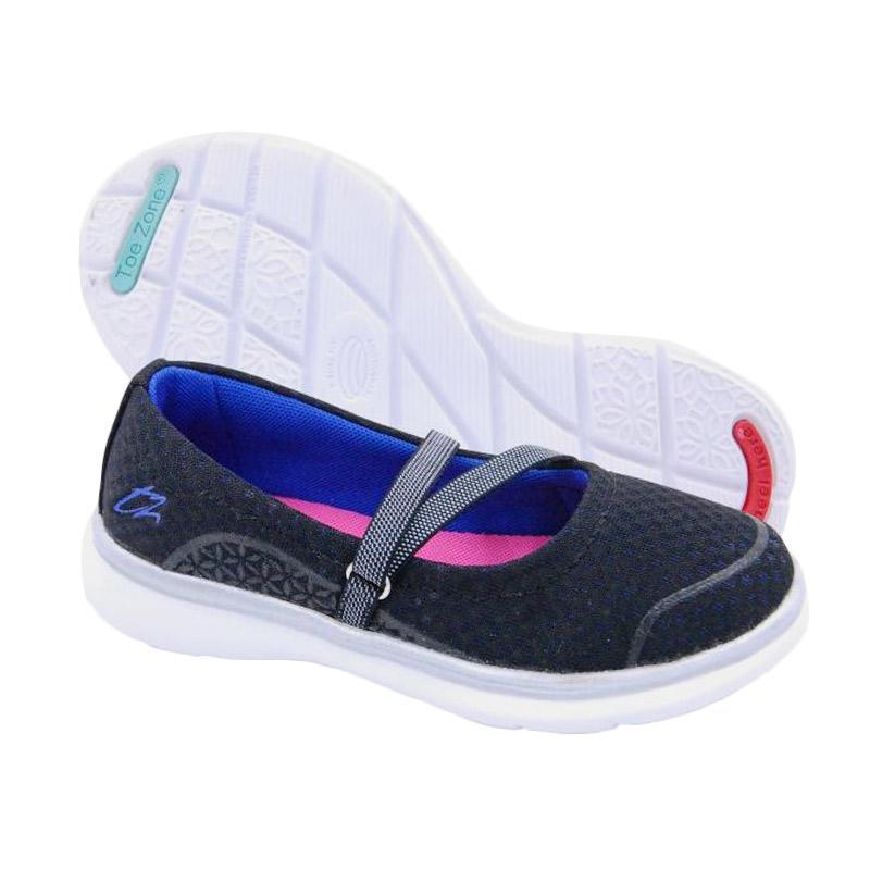 Toezone Kids Sophie Strap Ch Sepatu Anak Perempuan - Black Blueberry