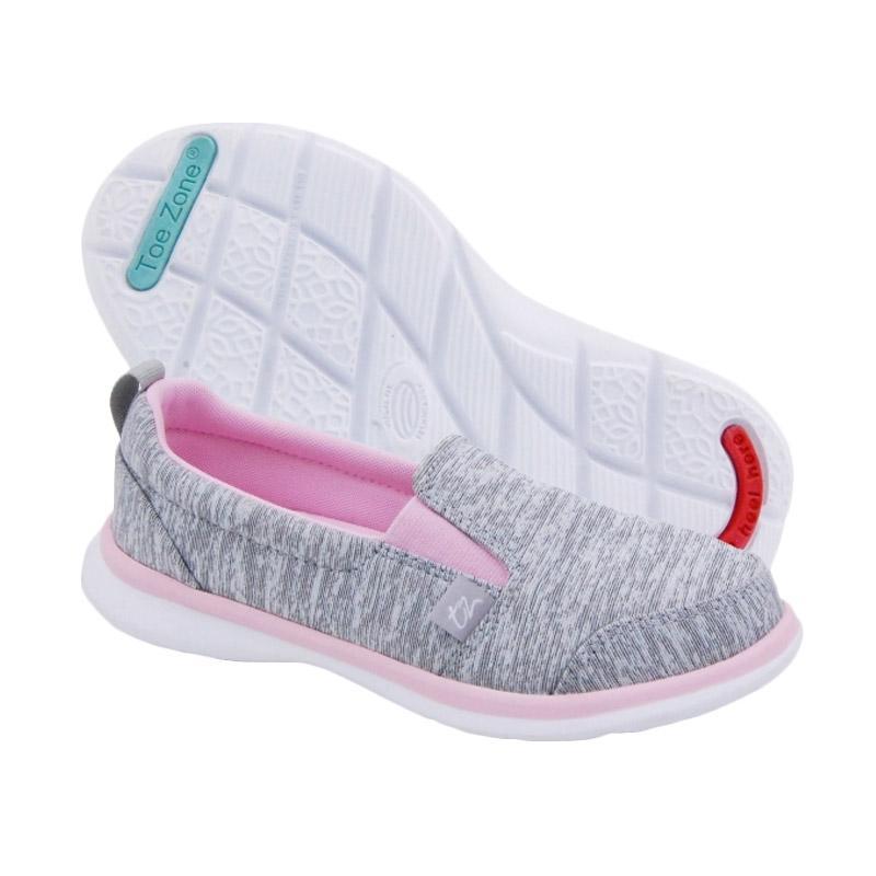Toezone Kids Napa Girl Ch Heather Sepatu Anak Perempuan - Grey