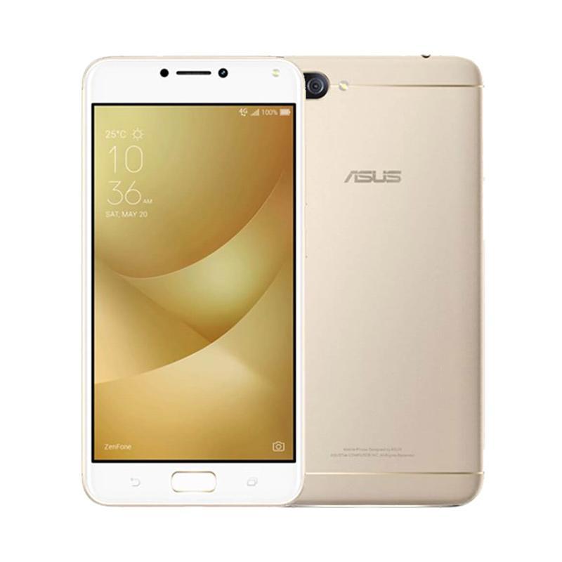 Asus Zenfone 4 Max ZC554KL Smartphone - Gold [32 GB/ 3 GB] GARANSI RESMI ASUS 1 TAHUN