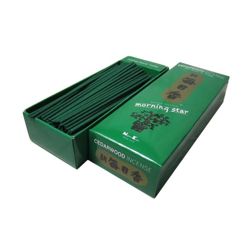 Nippon Kodo Morning Star Cedarwood Dupa Aromatherapy [200 Stick]