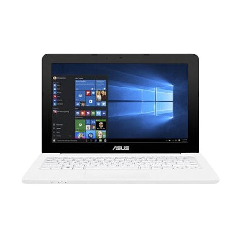 Asus E202SA-FD112T Netbook - White [11.6 Inch/N3060/500GB/2GB/Win 10] + ASURANSI
