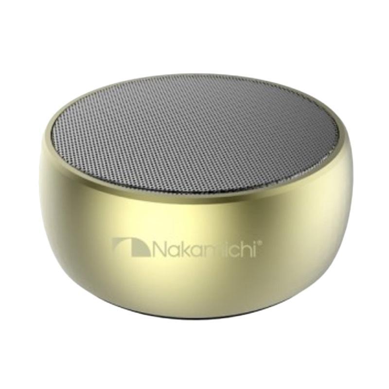 Nakamichi My Meiryo Speaker Wireless Portabel - Silver