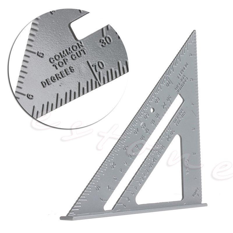 harga OEM Speed Square Aluminium Penggaris Siku Silver Metalic 7 Inch Blibli .