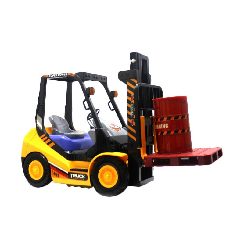 Power RC Heavy Forklift Mainan Remote Control