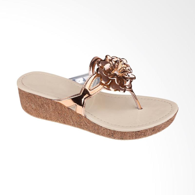 Syaqinah 298 Sandal Wedges Wanita