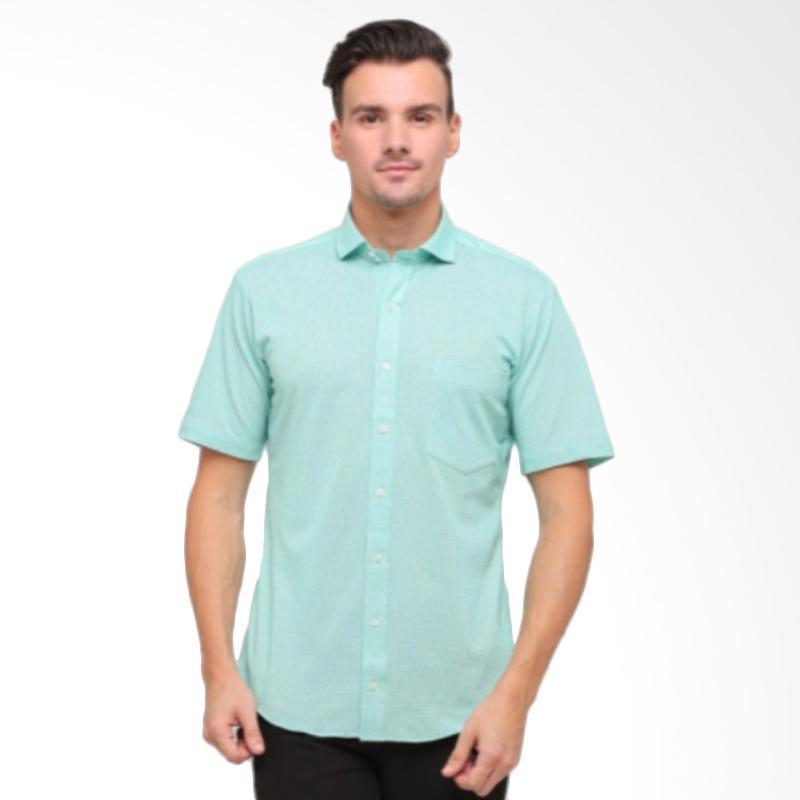 GT Man Short T-Shirt Pria - Green [KGT012GR]