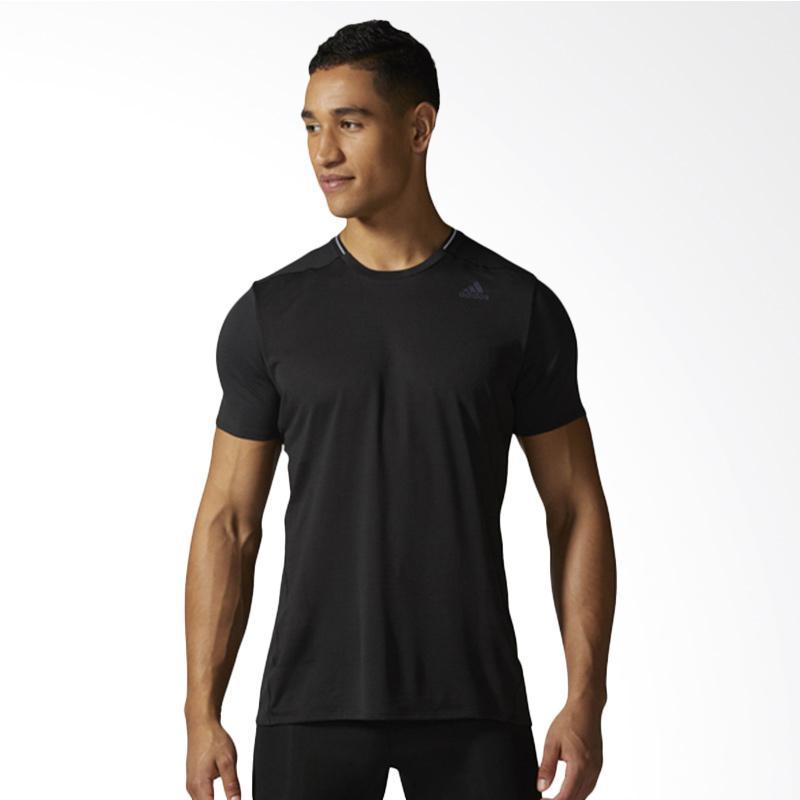 adidas Originals Supernova SS Tee M Kaos Olahraga Pria - Black [BQ7267]