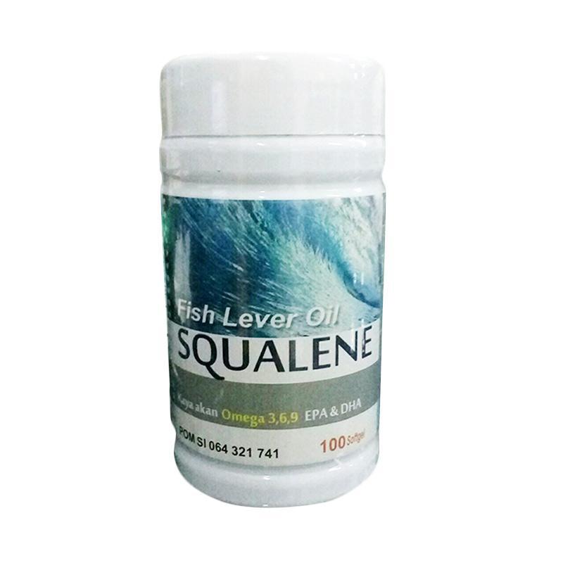 harga Squalene Salmon Fish Liver Oil Omega Minyak Ikan [100 Softgel] Blibli.com