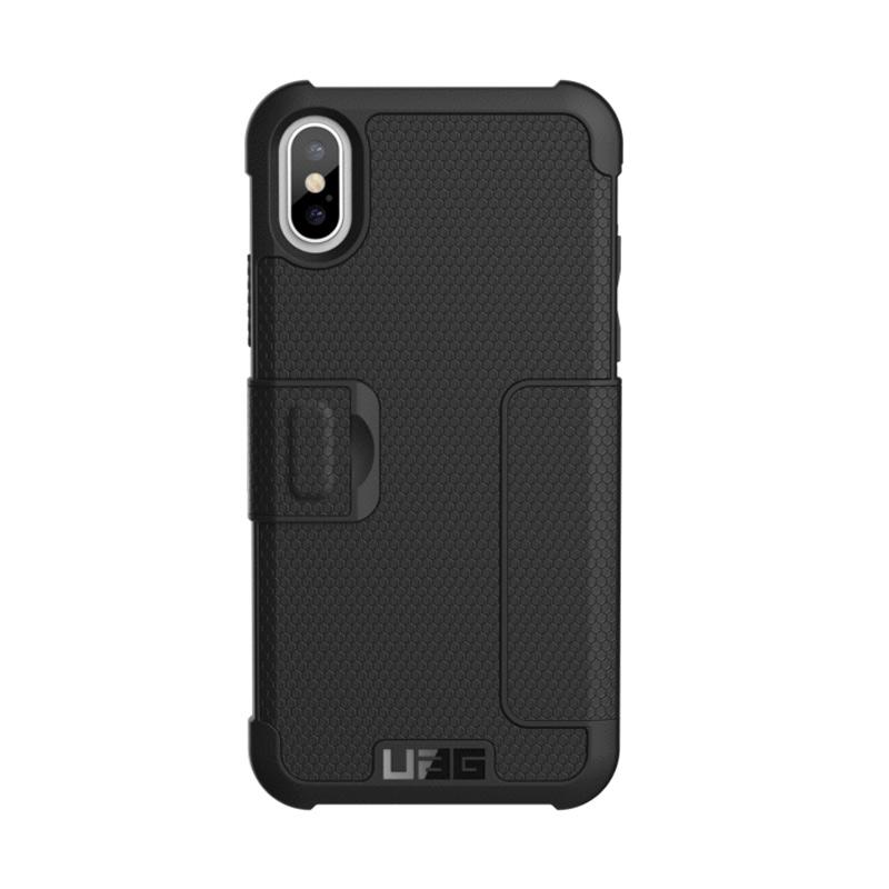 UAG Metropolis Casing for iPhone X - Black Silver