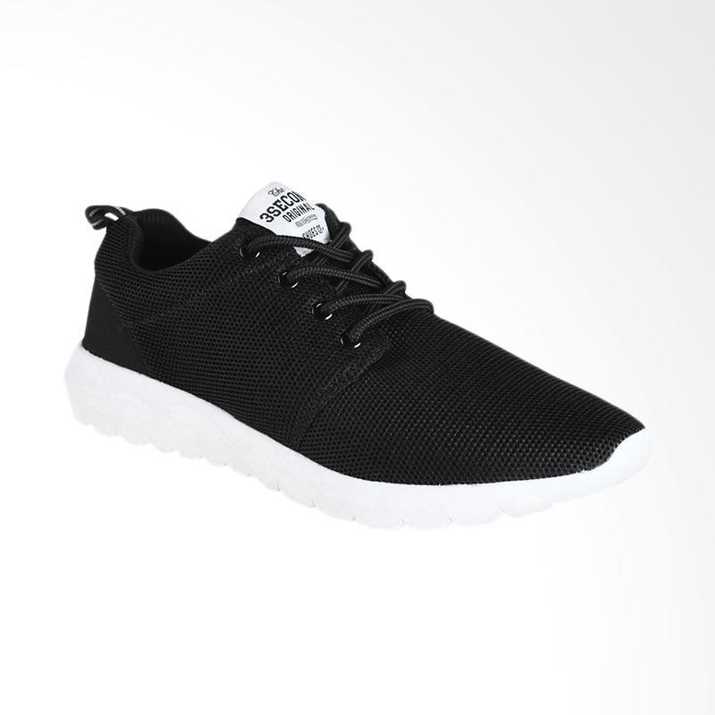 3SECOND 0612 Men Shoes - Black [106121718]