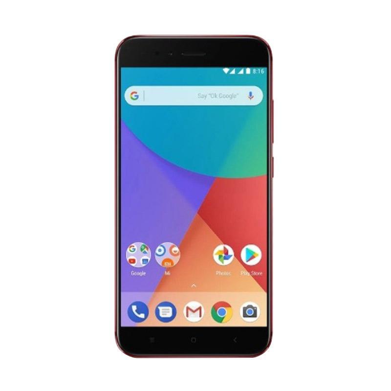 Xiaomi MI A1 Smartphone - Red [4GB/64GB/Garansi TAM] 1