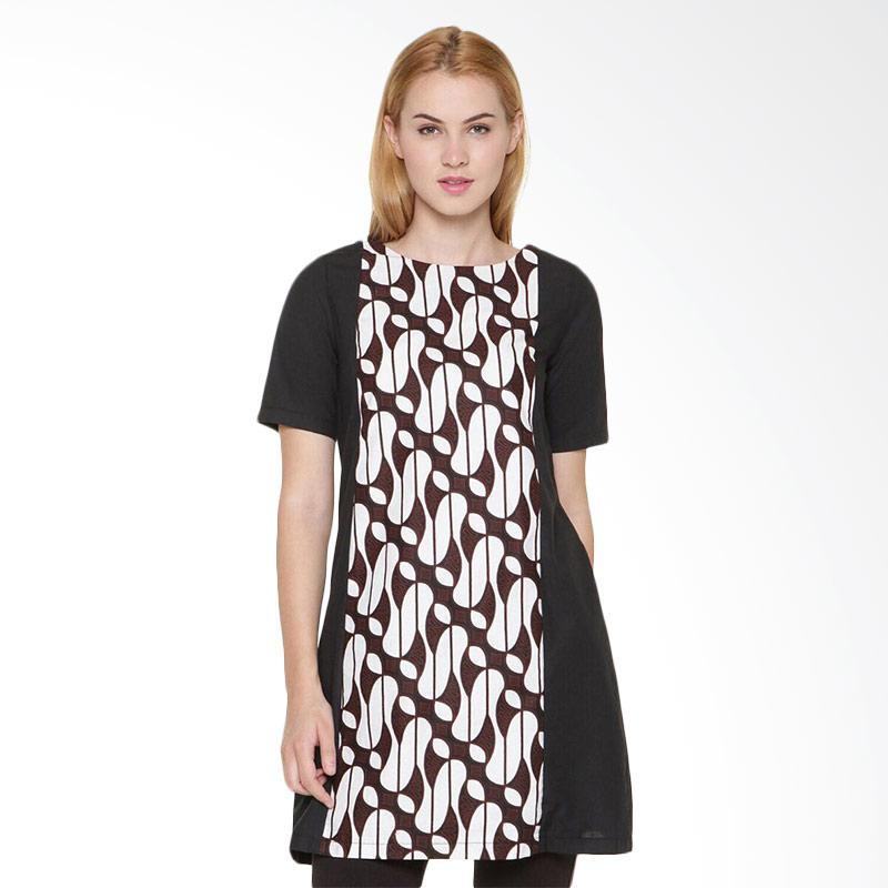 Djoemat Gembira D16-10-10 Women Hermitage Dress - Black