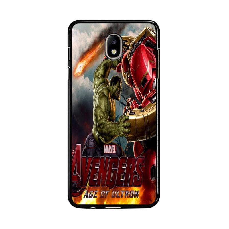 Flazzstore Hulk Vs Hulkbuster Avengers Age Of Ultron Z0742 Custom Casing for Samsung Galaxy J5 Pro 2017