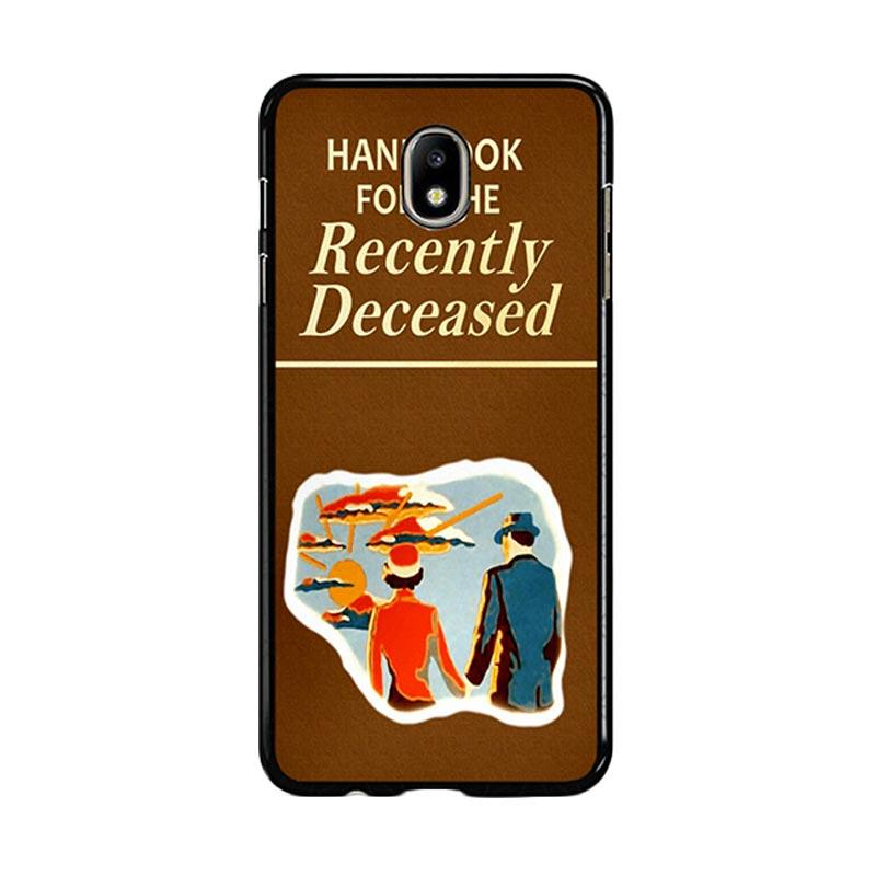 Flazzstore Beetlejuice Handbook For The Recently Deceased F0309 Custom Casing for Samsung Galaxy J5 Pro 2017