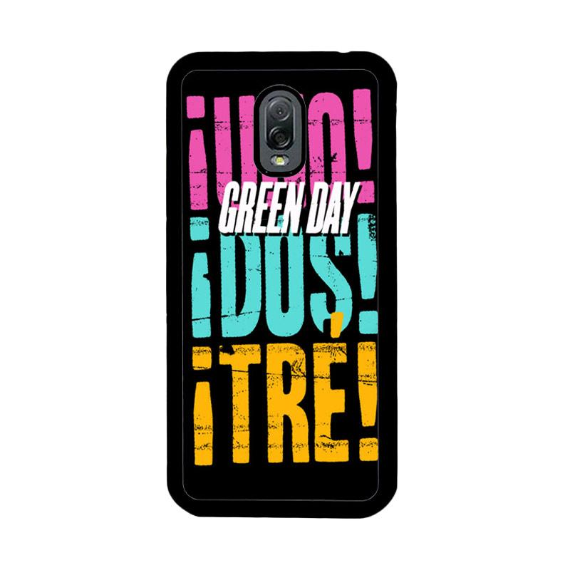 Flazzstore Green Day 2013 Uno Dos Tre Z0553 Custom Casing for Samsung Galaxy J7 Plus