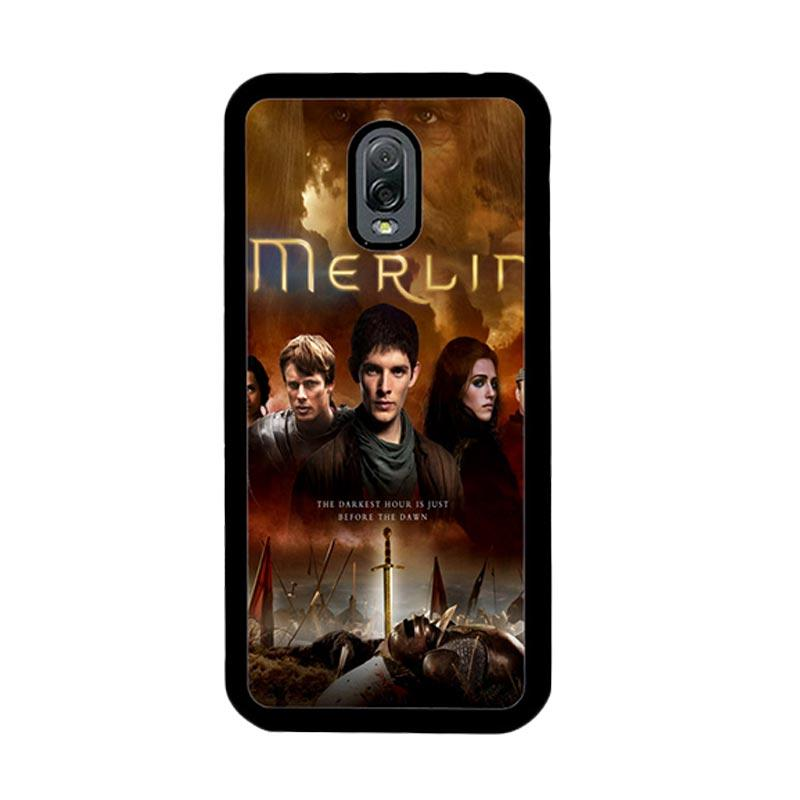 Flazzstore Merlin Fantasy Adventure Television Z0556 Custom Casing for Samsung Galaxy J7 Plus