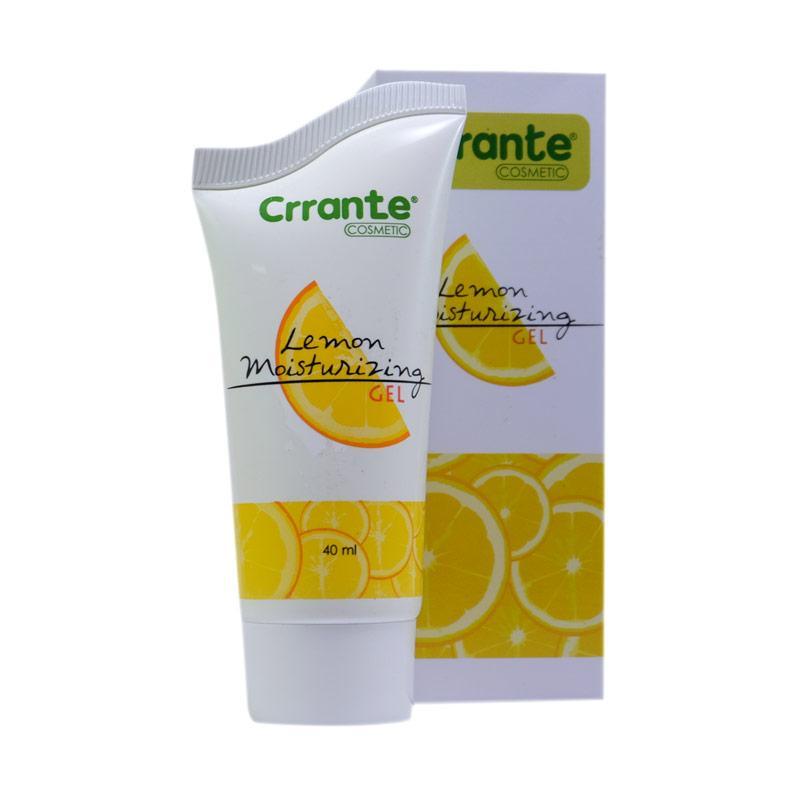 Crrante Lemon Moisturizing Gel Pelembab Wajah 40 mL