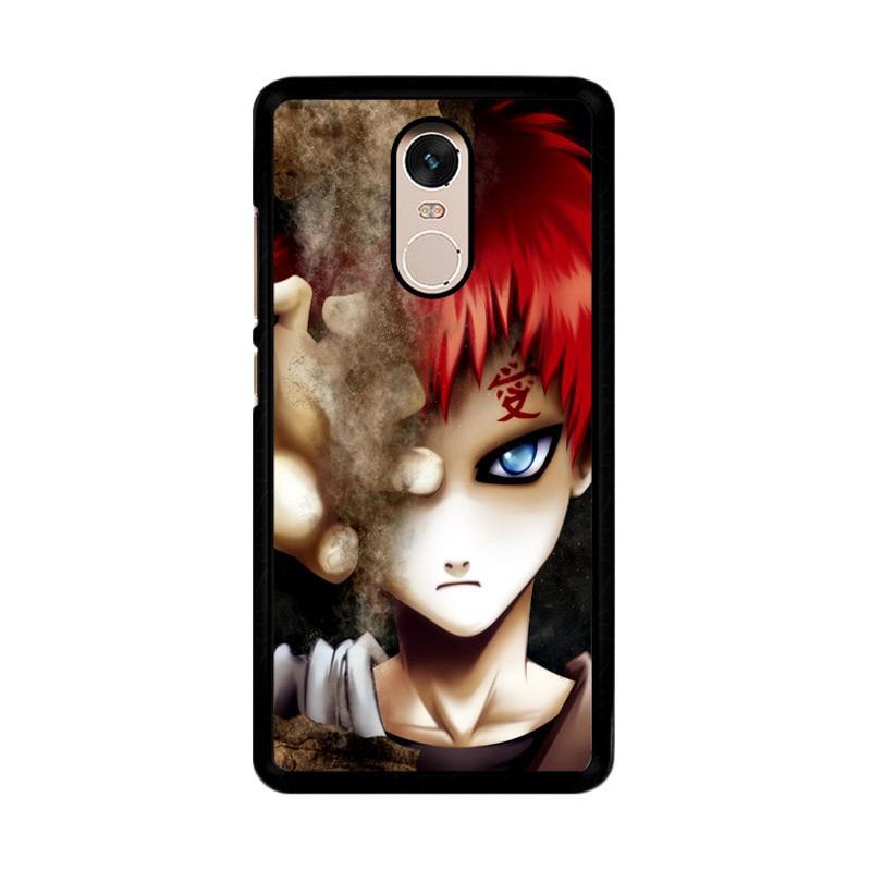 Flazzstore Gaara Naruto Anime Z0552  Custom Casing for Xiaomi Redmi Note 4 Note 4X Snapdragon Mediatek