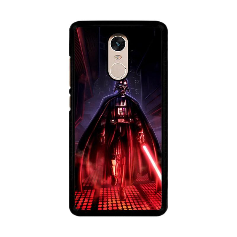 Flazzstore Star Wars Animated Darth Vader Z1454 Custom Casing for Xiaomi Redmi Note 4 or Note 4X Snapdragon Mediatek