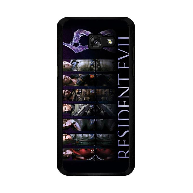 Flazzstore Resident Evil 6 Z0332 Costum Casing for Samsung Galaxy A5 2017