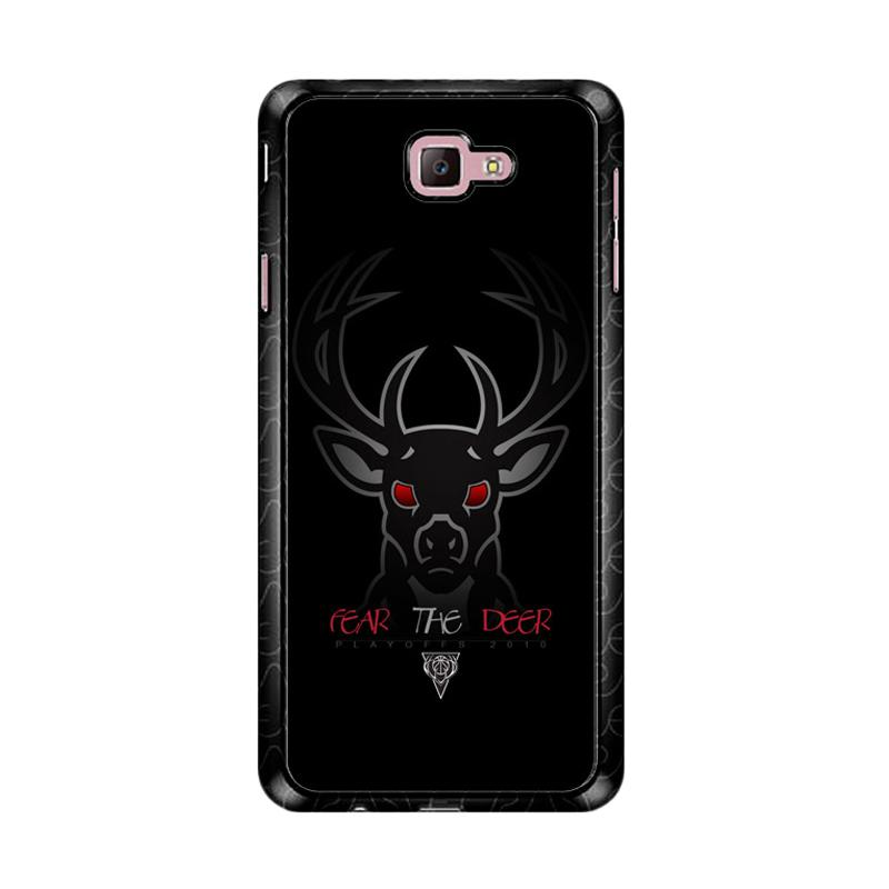 Flazzstore Fear The Deer Playoff Z4809 Custom Casing for Samsung Galaxy J7 Prime
