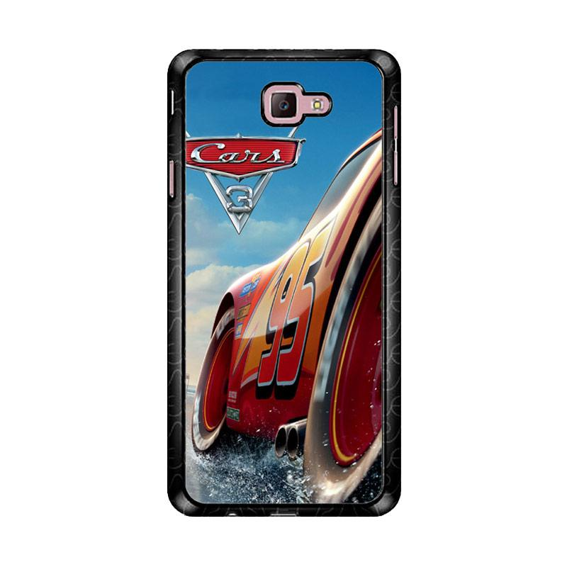 Flazzstore Cars 3 Disney Z4886 Custom Casing for Samsung Galaxy J7 Prime