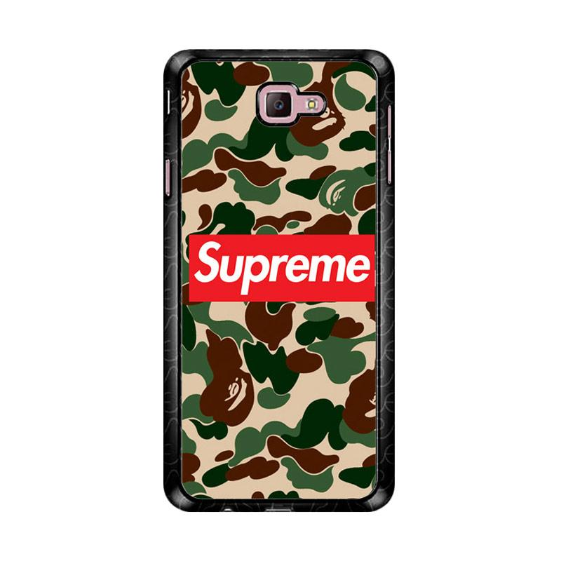 Flazzstore Supreme Camouflage Z4941 Custom Casing for Samsung Galaxy J7 Prime