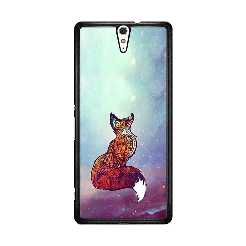 Flazzstore Imagine Fox O0128 Custom Casing for Sony Xperia C5 Ultra