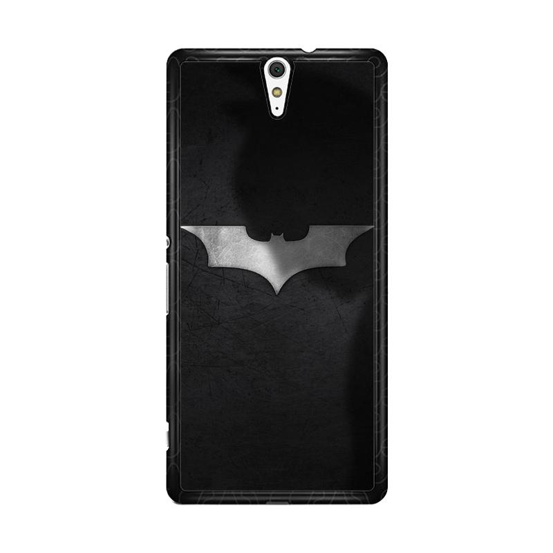 Flazzstore Batman Logo O0188 Custom Casing for Sony Xperia C5 Ultra